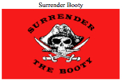 Flag-Surrender the Booty