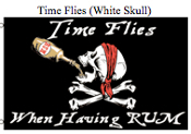 Flag-Time Flys White