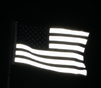 Reflective USA Flag - Limited Edition