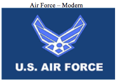Flag-Air Force Modern