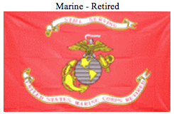 Flag-Marine Retired