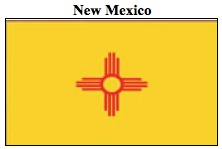Flag-New Mexico