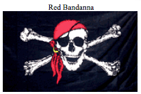 Flag-Red Bandanna